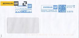 BRD / Bund Garching Frankit FR 2020 Weihnachten Zeppelin CAT Baumaschinen - Affrancature Meccaniche Rosse (EMA)