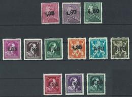 Année 1946 : 724X-724W ** Surcharge De Ghislenghien - Verso Signé - 1946 -10%