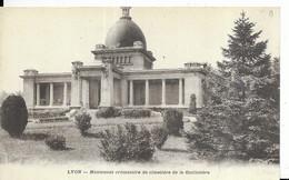 """- LYON - Monument Crématoire Du Cimetière De La Guillotière - PUB De """"L'Incinération """" - Unclassified"""