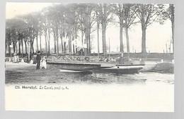 Herstal - Le Canal - Pont N°4 - Circulé - 2 Scans - Herstal