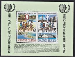 ISOLE SALOMONE SOLOMON ISLANDS 1985 MS MNH** - Solomoneilanden (1978-...)