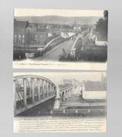 Herstal - Lot De 2 Cartes Postales - Le Pont De Wandre - Circulé - 2 Scans - Herstal