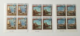Bloc Coin Daté - 1972 Poste Aérienne Y&T N°197, 198, 199 - Sauvegarde De Venise U.N.E.S.C.O.MNH ** - Camerún (1960-...)