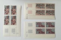 Bloc Coin Daté - 1972 Poste Aérienne Y&T N°202, 203, 204 - Jeux Olympiques De Munich MNH ** - Camerún (1960-...)