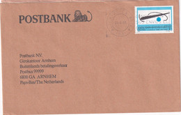 Giro Envelop Buitenlands Betalingsverkeer Vanuit Spanje 1993 - Storia Postale