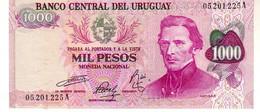 Uruguay P.52 1000 Pesos 1974 Unc - Uruguay