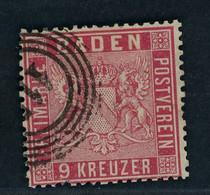 Baden Michel Nummer 12 Gestempelt - Baden
