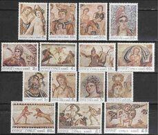 Cyprus 1989, Mosaics Of Cyprus, MNH Stamps Set - Ongebruikt