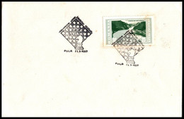 "Yugoslavia 1965, Cover  W./ Special Postmark ""Pula International Chess Festival 1965"" - Covers & Documents"
