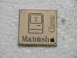 Pin's - Informatique MACINTOSH APPLE - Informatik