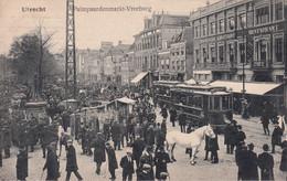 UTRECHT / PALMPAARDENMARKT / VREEBURG / TRAM / TRAMWAYS  1908 - Utrecht