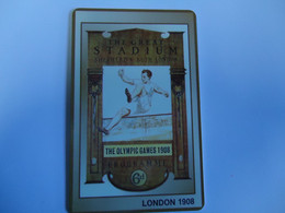 OLYMPIC GAMES PREPAID CARDS  LONDON   1908  TIR  2000   2 SCAN - Giochi Olimpici