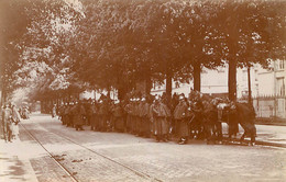 PARIS PHOTO ORIGINALE ISSUE D'UN ALBUM GALERIE DES MACHINES ET ECOLE MILITAIRE 1902-1904  FORMAT 11 X 7 CM - Oorlog, Militair