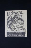 MILITARIA 1939 /45  - Fascicule Caricatural De L'Institut  D'Etude Des Questions Juives De Paris - L 84917 - Documents