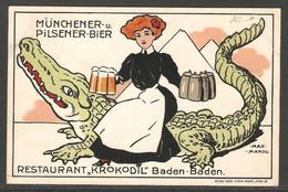 Carte P De 1912 ( Allemagne / Baden-Baden ) - Baden-Baden