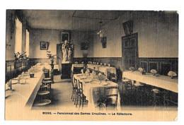Mons Pensionnat Des Dames Ursulines - Le Réfectoire Photo Peinture Breger Frères 1908 - Mons