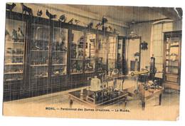 Mons Pensionnat Des Dames Ursulines - Le Musée Photo Peinture Breger Frères 1908 - Mons