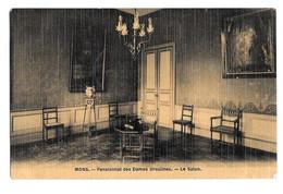 Mons Pensionnat Des Dames Ursulines - Le Salon Photo Peinture Breger Frères 1908 - Mons