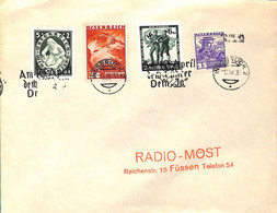 Allemagne Reich 1933  Lettre De Innsbruck  (G0500) - Lettere