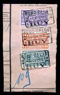 "TR Cachet ""NORD-BELGE - HUY 2"" - (ref. 769) Op Fragment - 1923-1941"