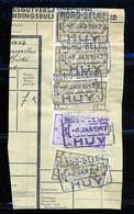 "TR Cachet ""NORD-BELGE - HUY 1"" - (ref. 772) Op Fragment - 1923-1941"