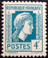 N° 643   NEUF ** SANS  CHARNIÈRE ( LOT:1265 ) - 1944 Coq Et Marianne D'Alger