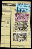 "TR Cachet ""NORD-BELGE - HUY 1"" - (ref. 776) Op Fragment - 1923-1941"