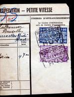 "TR Cachet ""NORD-BELGE - HUY 1"" - (ref. 777) Op Fragment - 1923-1941"