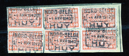 "TR Cachet ""NORD-BELGE - HUY 1"" - (ref. 781) Op Fragment - 1923-1941"