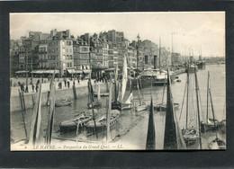 CPA - LE HAVRE - Perspective Du Grand Quai, Animé - Bateaux - Port