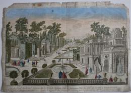 Vue D'Optique/Optische Prent: Vue Du Serail Du Grand Seigneur...à Constantinople - Prenten & Gravure