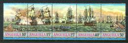 Anguilla 1971 Sea-battles Set MNH (SG 112-116) - Anguilla (1968-...)
