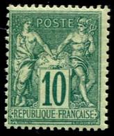 Lot N°C484 France N°76 Neuf * Qualité TB - 1876-1898 Sage (Type II)