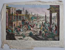 Vue D'Optique/Optische Prent: La IVme Plaïe En Egypte - Prenten & Gravure
