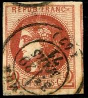 Lot N°C407 France N°40Bd Oblitéré Qualité TB - 1870 Bordeaux Printing