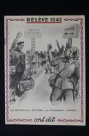 GUERRE 1939 /45 - Brochure Politique édité Par Le Régime De Vichy Contre Le Bolchevisme Et Pour Le STO - L 84926 - Documents