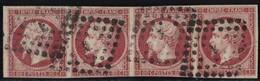 Lot N°C54 France N°17B Oblitéré Qualité TB - 1853-1860 Napoleon III