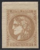Lot N°C73 France N°43B Neuf * Qualité TTB - 1870 Emission De Bordeaux