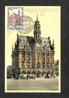 BELGIQUE - BELGIE - Carte MAXIMUM 1959 - Hôtel De Ville De AUDENARDE - AUDENAARDE - 1951-1960
