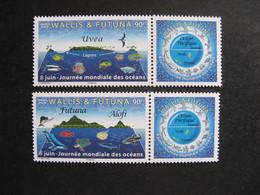 Wallis Et Futuna: TB  Paire N° 907 Et N° 908, Neufs XX. - Unused Stamps