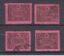Turquie 1913 Empire Ottoman Timbres Taxe  Yvert 48 46 Obliteres, 47 * 49 * Neufs Avec Charniere - Non Classés