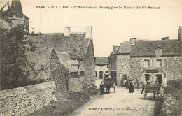 HILLION Entrée Du Bourg Par La Route De St Brieuc - Altri Comuni