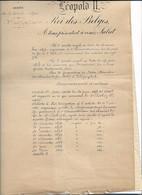 10 01 /71// LEDE  DIENSTSTAAT DIENSTDOSSIER VAN J COOL VANAF 1896 TOT..  Ministere Des Chemins De Fer  20 TAL DOCUMENTEN - Historische Dokumente