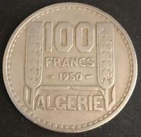 ALGERIE - ALGERIA - 100 FRANCS 1950 - KM 93 - TURIN - REPUBLIQUE FRANÇAISE - Algeria