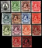 Turks & Caicos Islands 1922-26 SG 162-175 Set Of 14  Mult Script CA Perf 14  Mint - Andere