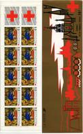 Carnet Croix Rouge 1987 - Non Plié  - YT N° 2036 ** - Rode Kruis