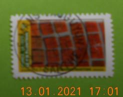 FRANCE 2021   CL105   DU CARNET  MOSAIQUE  DE  PAYSAGES    Cachet   ROND   ( A Voyagé) - Used Stamps