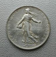 Francia 1 Franc 1914 Seminatrice Argento - France 1 Franc Argent Silver Paris Semeuse - H. 1 Franc