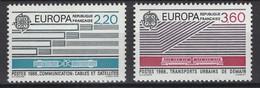 France: 1988. Y&T 2020. N° 2531/32 **, MNH, Neuf(s). TTB - Unused Stamps