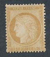 DX-268: FRANCE: Lot Avec N° 55* (* Lourde) - 1871-1875 Ceres